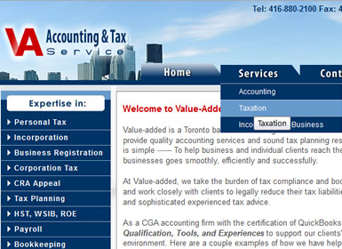 Value-Added Accounting & Tax Service