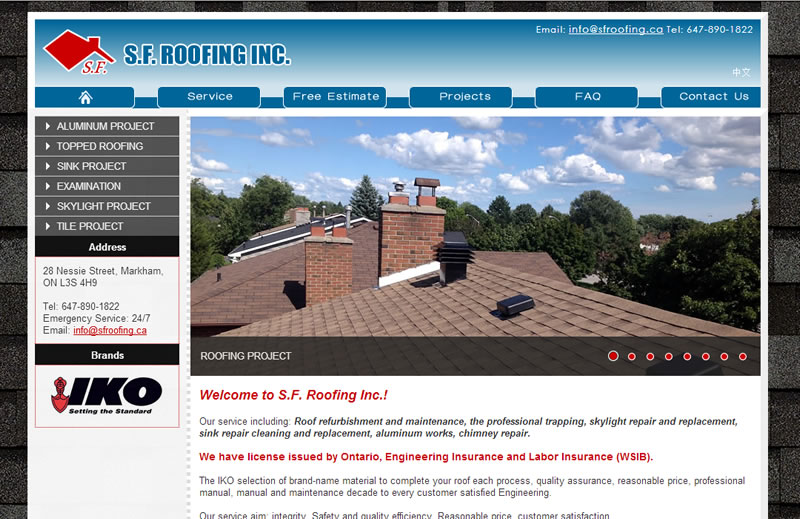S.F.Roofing Inc.